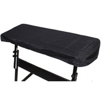 Wholesale Electronic Digital Piano - Wholesale- Black Waterproof Fabric Cloth 61-Key Electronic Piano Cover Dustproof Keyboard Case For 61 Key Keyboard Piano Dust Cover