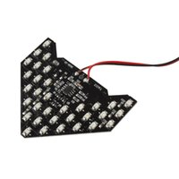 Wholesale Led Arrow Signals - 33SMD-LED Side Mirror Arrow Panel Indicator Turning Signal Yellow Light Lamp CLT_0B1