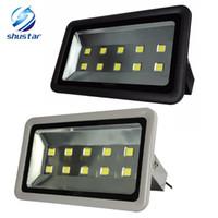 ingrosso luci di inondazione esterne-Illuminazione da esterno a LED da 500W Proiettore da esterno Proiettore da esterno a luce di inondazione IP65 Impermeabile Illuminazione a led per esterni a riflettore