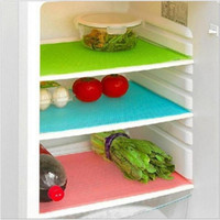 Wholesale NEW Anti bacterial Cuttable Refrigerator Mat Freezer Pad Useful For Kitchen
