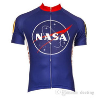 Wholesale Cool Bicycles Cheap - 2017 NASA Cycling Jersey Set Custom each rider is different bike jersey cycle clothing jerseys cool shirt unique bicycle wear Cheap