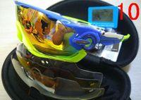 Wholesale clear 16 - Cycling Eyewear 16 Colors Mens Jawbreakers Polarized Sunglasses Quality Designer Sun Glasses For Men Women Fashion Sunglasses 3 Lens