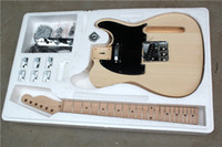 Wholesale Classical Strings - DIY Telecaster Electric Guitar Kit With Basswood Body Classical Maple Fingerboard TL Model Offer Customized