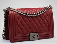 Wholesale Retail New Brand Fashion Handbags - Wholesale and retail hot sell new brand sheepskin chain fashion womens totes shoulder bags handbags lqh2018