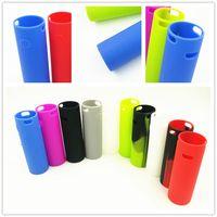 22 batterie groihandel-Vape pen 22 silikon tasche bunte gummihülle schutzhülle silikagel haut für smok vape pen 22 batterie mod