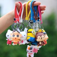 Wholesale Ceramic Blanket - Hot sale Lovely Lucky Cat Blanket Creative Cartoon Car Keychain Key Chain Pendant KR197 Keychains mix order 20 pieces a lot