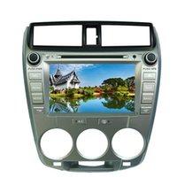 "Wholesale Honda City Dvd Player Gps - 8"" Honda City 2008 2009 2010 2011 Car DVD player with GPS navigation(optional),USB SD,AUX,BT TV,audio Radio stereo,car multimedia headunit"