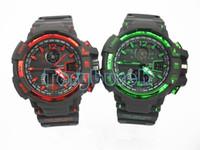 relojes del deporte del muchacho del cronógrafo al por mayor-Nuevos relojes deportivos de los hombres de GA1100 relogio, reloj de pulsera del cronógrafo del LED, reloj militar, reloj digital, buen regalo para el muchacho de los hombres, nave de lanzamiento