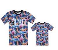 Wholesale Leopard Print Mens Tees - blvd tee YMCMB Tshirts Men Diamond Supply Co Mens t shirts Last King Leopard camo short sleeve Neck hip hop Galaxy Floral T-Shirt