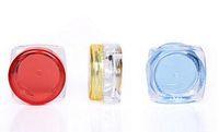 yüz takibi toptan satış-3g 5g Kozmetik Boş Kavanoz Pot Göz Farı Makyaj Yüz Kremi Dudak Balsamı Konteyner Şişe Ile Izleme
