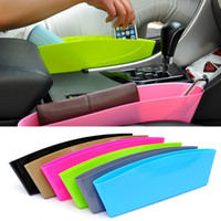 Wholesale Chinese Car Accessories Interior - 4 colors Car Seat Gap Storage Box Car Styling,New Universal Car Interior Accessories Storage Organizer Pockets hot sale seat bag