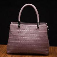 Wholesale united fiber - Europe and the United States fashion bag 2017 new leather handbags handbags crocodile pattern women bag shoulder leather Messenger