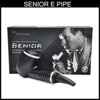 Wholesale Ion Sales - Hot sale dry herb sub herb senior E pipe e cigarette vaporizer pipe fit 1000mAh Lithium-ion battery starter kit via DHL