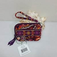 Wholesale Flowers Factory - VB small Flower Cotton Wallet Women coin purses From VB Factory 100% Real