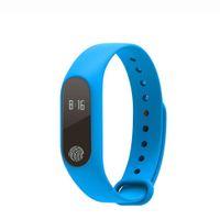 Wholesale Step Count - New M2 Heart Rate Smart Bracelet Smart Wristband Bluetooth4.0 Smartband intelligent band Sleep Monitor Step Counts