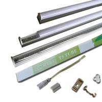 Wholesale Cool Daylight - 5Ft T5 led fluorescent tube t5 light 4ft 3ft 2ft 1ft Integration T5 LED Tube Lights White 4000K Daylight 5000K