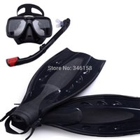 Wholesale Underwater Equipment - ring scuba diving equipment ,dive mask and snorkel flipper kit, mask snorkeling,fins underwater swimming kits