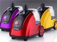 Wholesale Hanging Steam Iron - 1800W Garment Steamers Mini hanging iron Household steam irons Steam brush