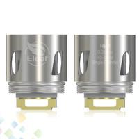 Wholesale Heads Cylinder - Orignal Eleaf ELLO Mini Coil Head 0.2ohm 0.3ohm HW1 HW2 Dual Cylinder Replacement Coils Electronic Cigarette DHL Free