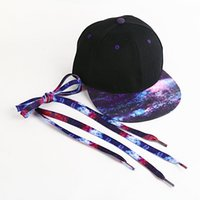 Galaxy Snapback Set Chapeau Stary Hat Hip-hop Rasta Flat Bill Baseball Set