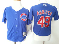 Wholesale Chicago Cubs Bryant Arrieta Toddlers jerseys Family baseball jerseys Toddlers Jerseys