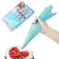 Wholesale Dessert Decoration - Cooking Tools icing Bag Re-useable Cake Silicone Icing Pastry Eco-Friendly Piping Bag Decoration DIY Tools