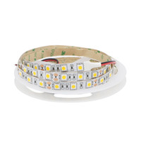 Wholesale Led Lights Amber Strips - 2017 New LED Strip Light 5050 SMD 60LED M Non Waterproof Amber Color Flexible LED Light Tape for Car Signal