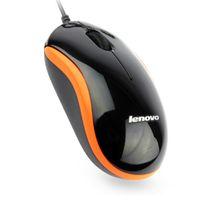 ücretsiz oyun dizüstü bilgisayar toptan satış-Yeni Lenovo M1000 Mini USB Kablolu 3D Optik USB Gaming Mouse Fare Bilgisayar dizüstü Oyun Fare perakende kutusu ile 50 adet DHL Shiping Ücretsiz