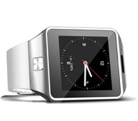 Wholesale Cheapest Silver Watch - QW09 Smart Watch Android Wifi 3G Smart Wacht Bluetooth Wristwatch MTK6572 Dual Core 512MB 4GB Pedometer Smartwatch Phone DZ09 Cheapest