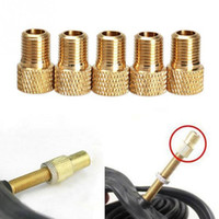 5Pcs / Lot Alloy Bicycle Bike Presta à Schrader Tube Pump Tire Gas Valve Adapter Convert Repair Bomba Bicicleta Bicycle Wastgate