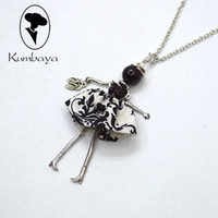 Wholesale Autumn Pendants - Hot Sale Top-rated Autumn Fashion Charms Pendants Doll Necklace Cute Women Jewelry Accessories Mother's Day Gifts Statement Bijoux NS027