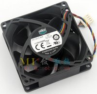 Wholesale 12v Cpu Fans - Cooler Master FA08025M12LPA 12V 0.45A 80*80*25MM 8CM 4 line PWM hydraulic silent CPU fan