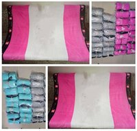 Wholesale Xmas Bedding - Blanket Air Condition Xmas Gifts Pink Blankets For Beds Christmas Coral Fleece Travel Letter Serect Beach Cover Throw 30pcs Free Shipping