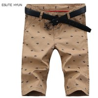 Wholesale Hot Selling Summer Fashion - Wholesale-Brand Hot Sell New 2016 Summer Casual Cotton Men's Shirts Casual Shorts Youth Color Short Pants Fashion Beach Printed