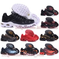 Wholesale Cheap Plus Size Flat Shoes - Cheap TN Air Shoes Mens Running Shoes Air Plus TN Ultra Trainers Classical Sports TN Requin For Men Superfly Sneakers Size 41-46