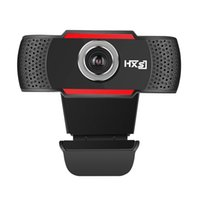 Wholesale Mega Wholesale China - USB Web Cam Webcam HD 720P 300 Megapixel PC Camera with Absorption Microphone MIC for Skype for Android TV Rotatable Computer Camera