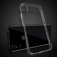 Shuffproof Clear TPU Case para iPhone 8 7 S7 S8 Plus S7 Edge Ultra fino Transparente Soft Cover J1 J5 J7 2017 on5 on7 A5 A7 C5 G530 G360