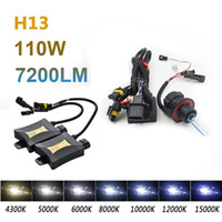 2pcs 55W H13 9004 9007 Xenon HID Light Set Double Beam DC330 4300k 6000k 8000k Auto Car Light Source Farol de xenônio