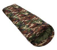 Wholesale cars hooded online - Pattern Camouflage Envelope Sleeping Bag Waterproof Season Cotton Filling Envelope Style Army Hooded Military Bags Fishing Equipment