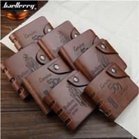 Wholesale Man Wallet Bailini - Baellerry BAILINI GUBINTU 501 101 Man PU Leather Clutch Business Credit Card Holder Pocket Letter Bag Wallet Purse