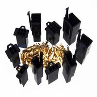 motosiklet pin konnektörü toptan satış-2 X 5 türleri 2.8mm 23469 Yol / pin Elektrik Konnektörü fiş (2 takım * 2/3/4/6/9 Pin) için Motosiklet Araba vb. Siyah renk