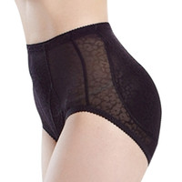 Женщины Мягкие Shapewear Breathable Booty Butt Enhancer Knickers Hip Up Underwear Ladies Control Panties XF0050 Бесплатная доставка
