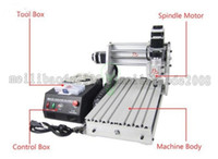 Wholesale Cnc Engraving - CNC 3020 T-DJ Mini Desktop Engraving Machine 2030 Drilling & Milling Carving Router For PCB Wood & Other Materials MYY