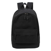 Wholesale Canvas Big Backpack For School - Wholesale- Korea Style Fashion Backpack for Men and Women Preppy Style Soft Back Pack Unisex School Bags Big Capacity Canvas Bag