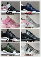 Wholesale Clear Plastic Men Shoe Box - 2017 with box Newest Ultra Boost support 93 EQT Support Limited edition black pink Sneakers Men and womens Shoes top qualityfashion shoes