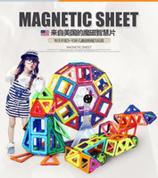 Wholesale 2017 hot New Similar Magformers Magnetic Building Toys D DIY Building Blocks Set Kids Educational Toys Creative Bricks Toys For Children