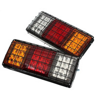 Wholesale Wholesale Trailer Lights - 12V Rear Stop LED Lights Tail Indicator Lamp Trailer Caravan Truck Van UTE