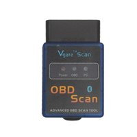 Wholesale Elm327 Android Software - Wholesale- ELM327 Vgate Scan Advanced OBD2 Bluetooth Scan Tool(Support Android And Symbian) Software V2.1
