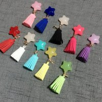hang phone strap großhandel-Förderung Produkte Handy Riemen Charme Quaste Dekoration Geschenk Souvenir Karabiner Hängende für Handy Frauen Handtasche