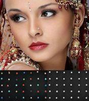 bijoux piercing à vendre achat en gros de-Vente chaude 60 Pcs / Boîte Emballé Europe 1.8mm Médical Titane Acier Diamant Faux Nez Stud Nez Anneau Corps Piercing Bijoux En Gros